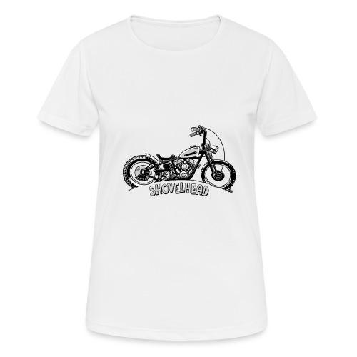0917 chopper shovelhead - Vrouwen T-shirt ademend actief