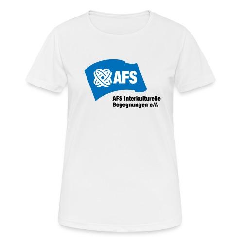 AFS-Logo - Frauen T-Shirt atmungsaktiv