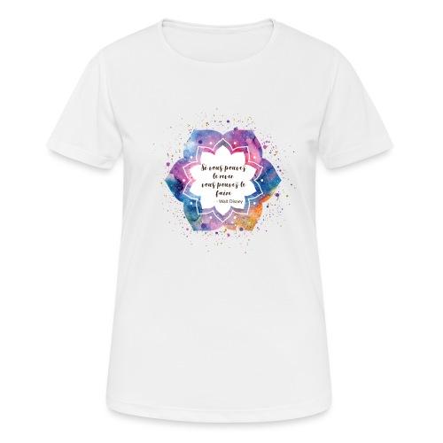 Citation de Walt D. - T-shirt respirant Femme