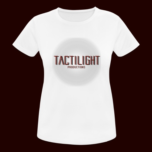 Tactilight Logo - Women's Breathable T-Shirt