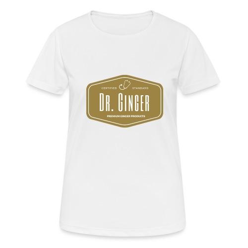 Dr. Ginger - Frauen T-Shirt atmungsaktiv