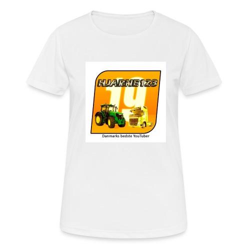 hjarne 123 danmarks bedeste youtuber - Dame T-shirt svedtransporterende