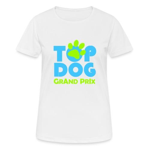 logo topdog PNG - Maglietta da donna traspirante