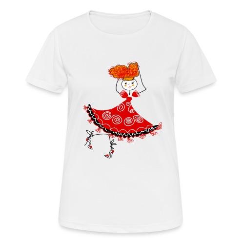 Ballerina - Maglietta da donna traspirante