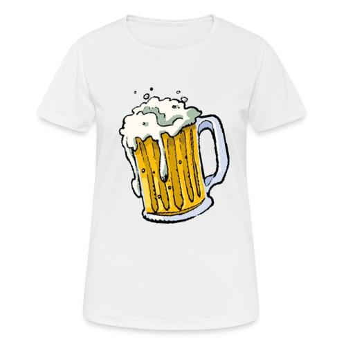 Boccale Birra - Maglietta da donna traspirante