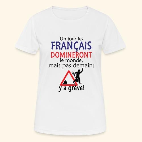 domination française - T-shirt respirant Femme