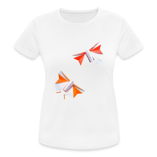Butterflies Origami - Butterflies - Mariposas - Women's Breathable T-Shirt