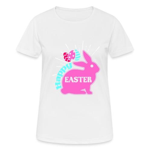 Happy Easter - Frohe Ostern - Frauen T-Shirt atmungsaktiv