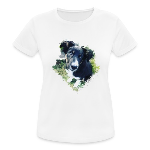 colliegermanshepherdpup - Women's Breathable T-Shirt