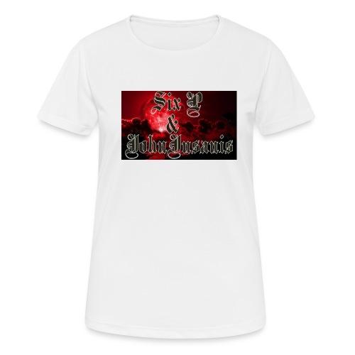 Six P & John Insanis T-Paita - naisten tekninen t-paita