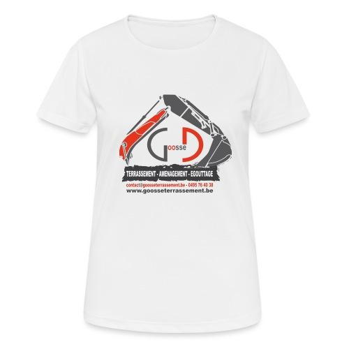 dylan sans fond - T-shirt respirant Femme