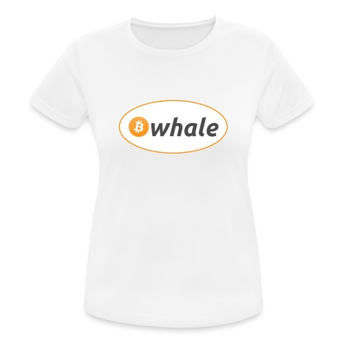 Bitcoin Whale - Women's Breathable T-Shirt