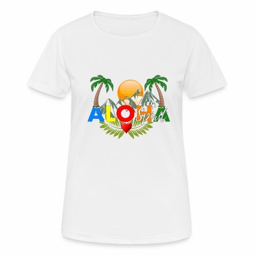 Aloha Spirit Tee - Frauen T-Shirt atmungsaktiv