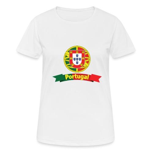 Portugal Campeão Europeu Camisolas de Futebol - Women's Breathable T-Shirt