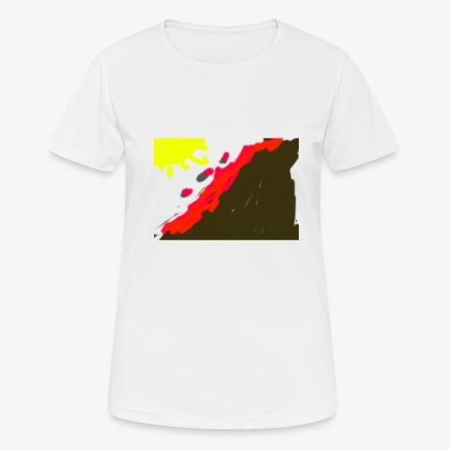 flowers - Dame T-shirt svedtransporterende