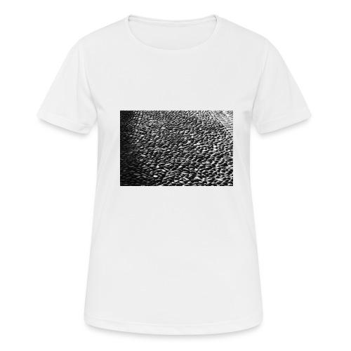 cobblestone shirt - Vrouwen T-shirt ademend actief