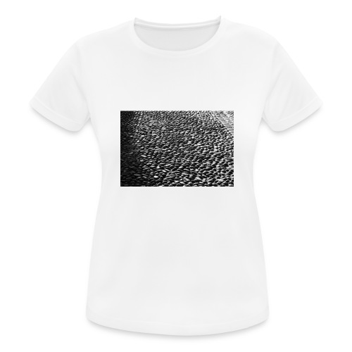 cobblestone shirt - vrouwen T-shirt ademend