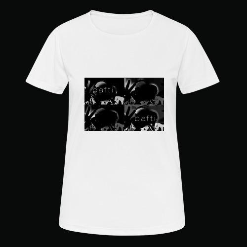 black bafti crew - Dame T-shirt svedtransporterende