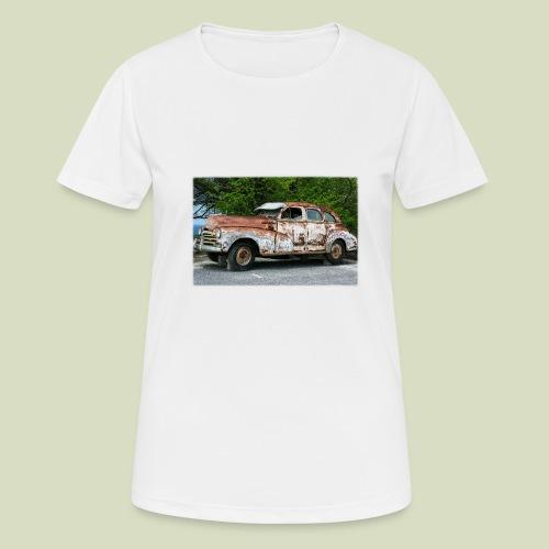 RustyCar - naisten tekninen t-paita