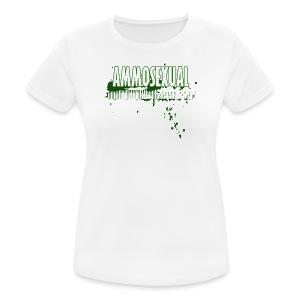 Ammosexual Multi-Caliber (white) - Frauen T-Shirt atmungsaktiv