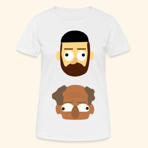 Makkers - Vrouwen T-shirt ademend actief