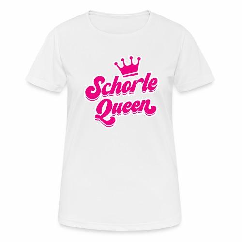 Schorle Queen - Frauen T-Shirt atmungsaktiv