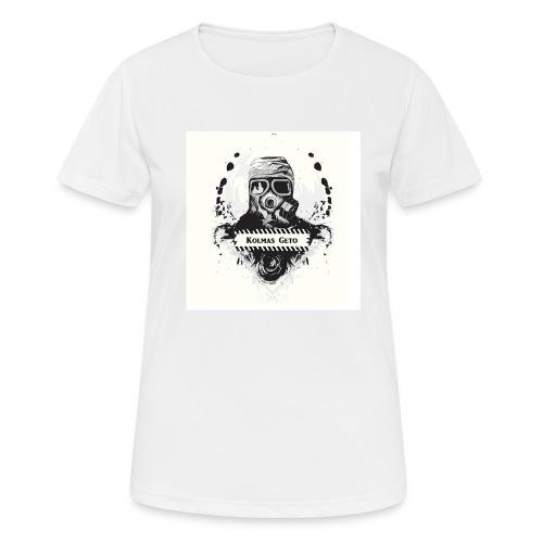 KOLMAS GETO LOGO VALMIS ISO RESOLUUTIO - naisten tekninen t-paita