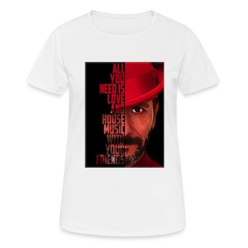 All U NEED - Frauen T-Shirt atmungsaktiv