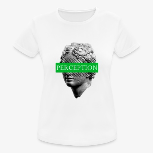 TETE GRECQ GREEN - PERCEPTION CLOTHING - T-shirt respirant Femme