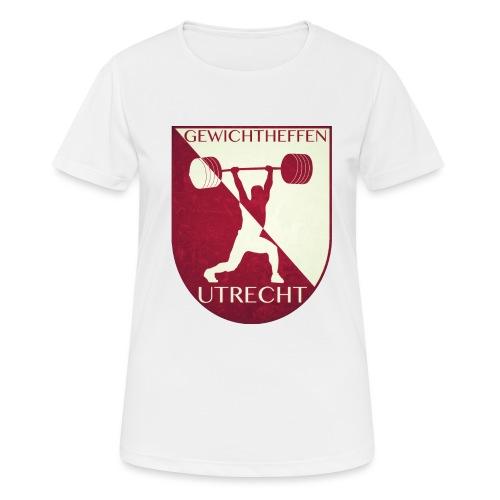 Oldschool Logo - Vrouwen T-shirt ademend actief