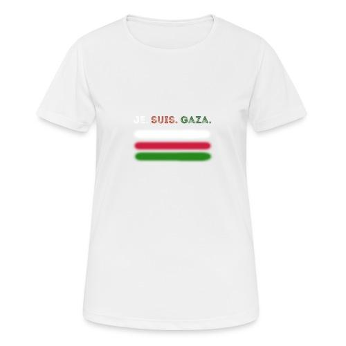Je Suis Gaza - Dame T-shirt svedtransporterende
