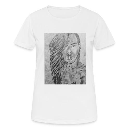 Jyrks_kunstdesign - Dame T-shirt svedtransporterende