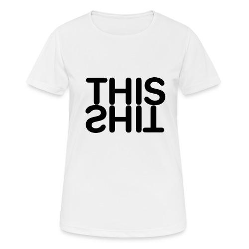 THIS Black - Camiseta mujer transpirable