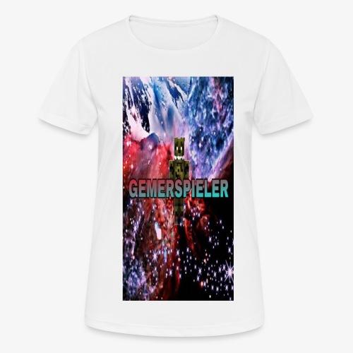 Gemerspieler Design - Frauen T-Shirt atmungsaktiv