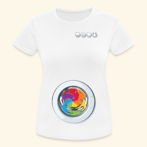 Rainbow Laundry-Unisex - Women's Breathable T-Shirt