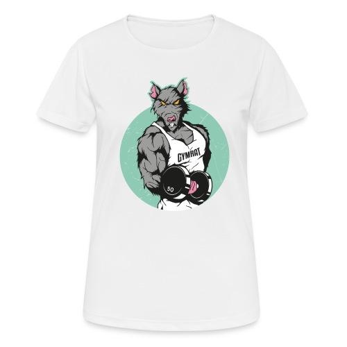 GYMRAT - Frauen T-Shirt atmungsaktiv