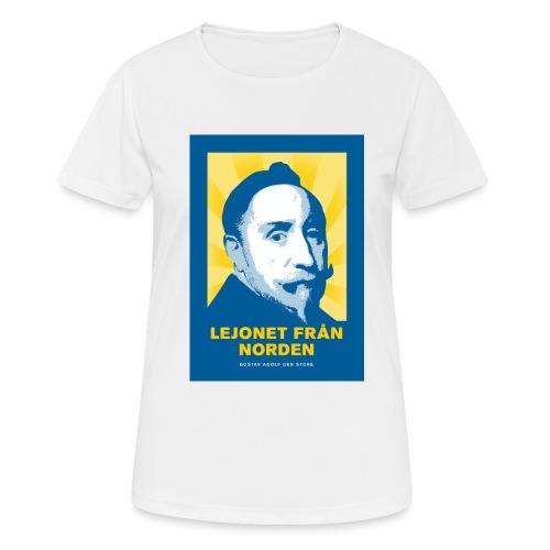 Lejonet från Norden - Andningsaktiv T-shirt dam
