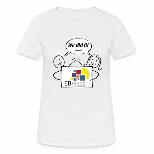 EBmooc 2017 Abschluss Comic - Frauen T-Shirt atmungsaktiv