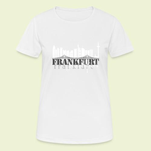 FFM - Frankfurt Skyline - Frauen T-Shirt atmungsaktiv
