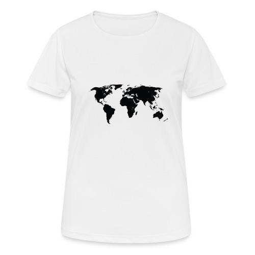 World - Dame T-shirt svedtransporterende