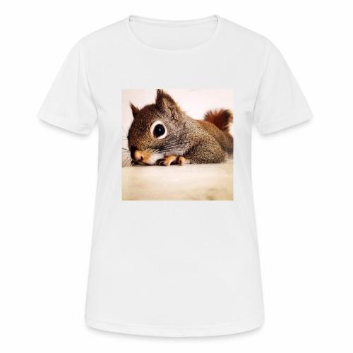 écureuil So Cute - T-shirt respirant Femme