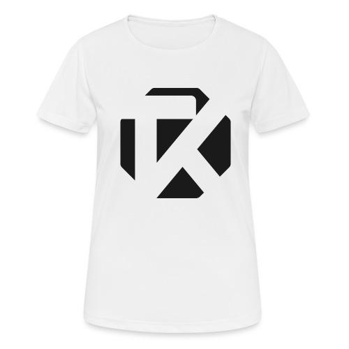Logo TK Noir - T-shirt respirant Femme