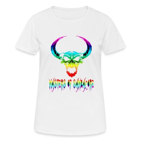 mos2 png - Vrouwen T-shirt ademend actief