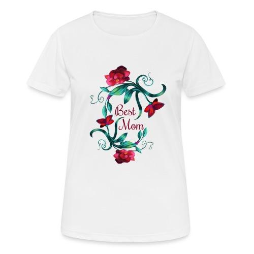 Best Mom - Frauen T-Shirt atmungsaktiv