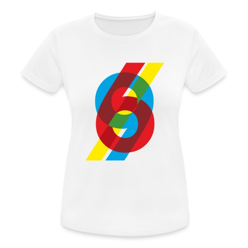 colorful numbers - Women's Breathable T-Shirt