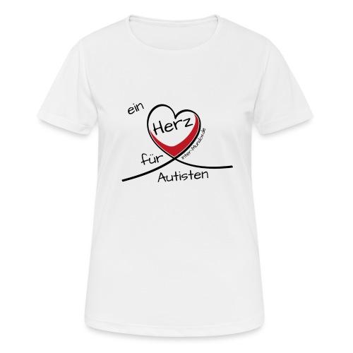 Ein Herz für Autisten - Frauen T-Shirt atmungsaktiv