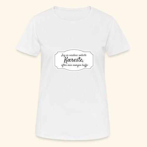 Verdens sødeste kæreste - Dame T-shirt svedtransporterende