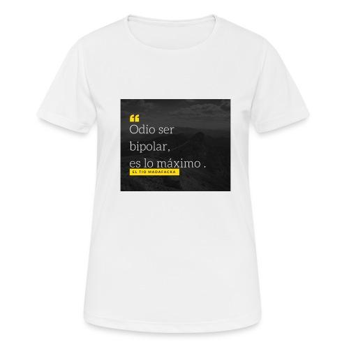 Odio ser - Camiseta mujer transpirable