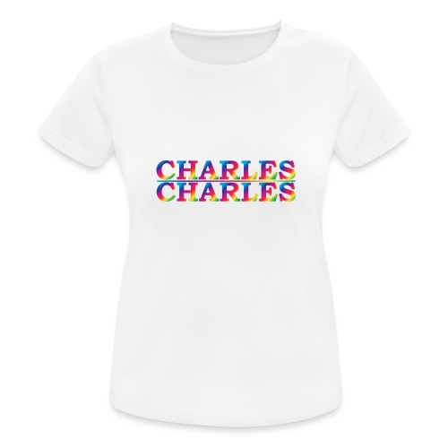 CHARLES rainbow - Women's Breathable T-Shirt