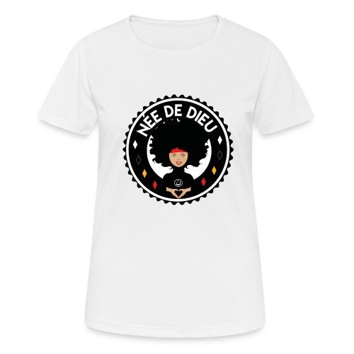 Née de Dieu - T-shirt respirant Femme